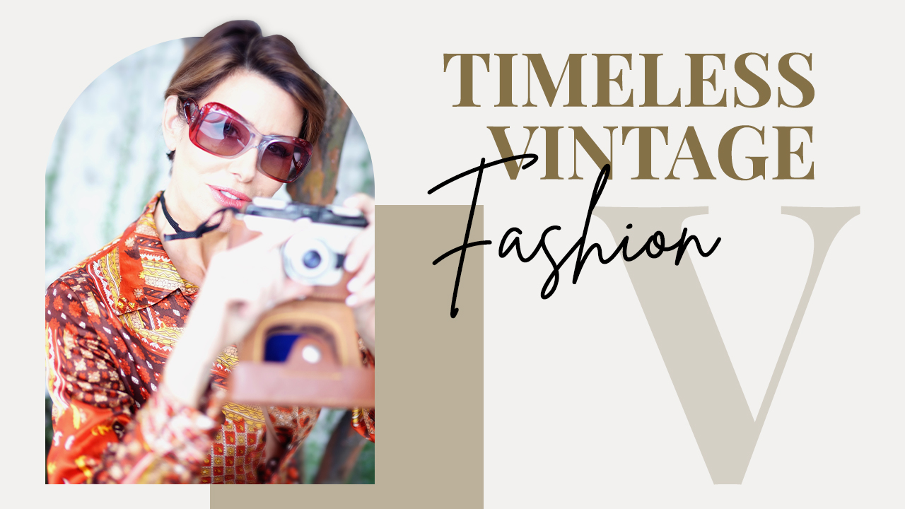 How To Wear Vintage Fashion | 60's 70's 80's | Dominique Sachse